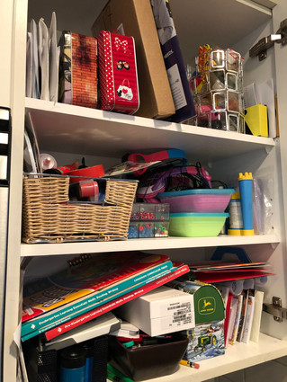 Do you need more space or do you need less stuff?