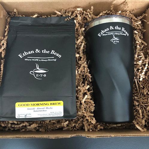 Tumbler & Coffee Combo