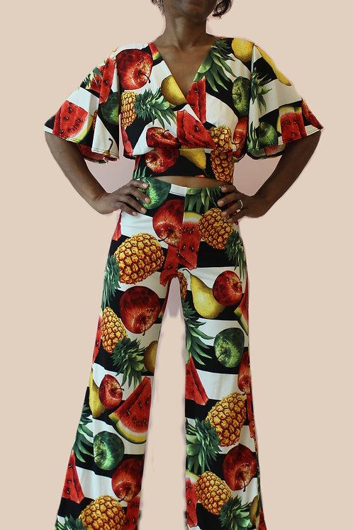 Summer fruit pants
