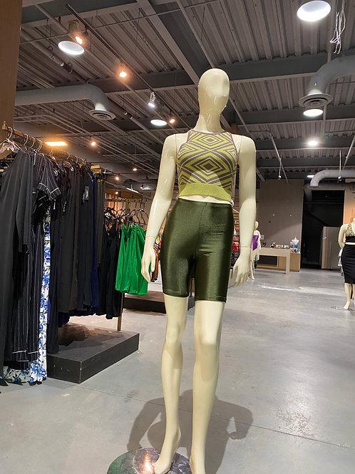 Green Bike shorts