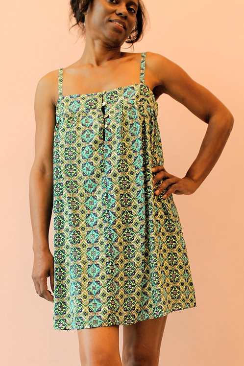 Summer dress with lining