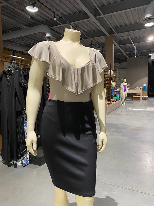 Body with Ruffles Plus Size