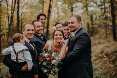 BRIDE WITH GROOMSMEN