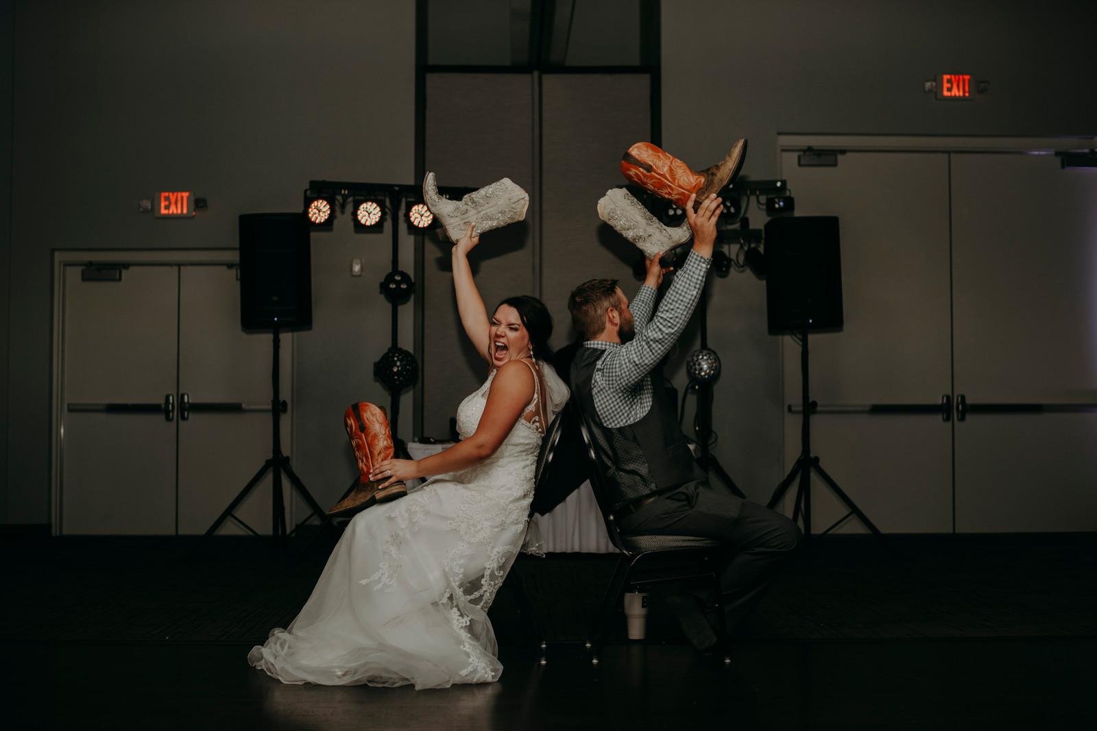 Shoe Game Wedding