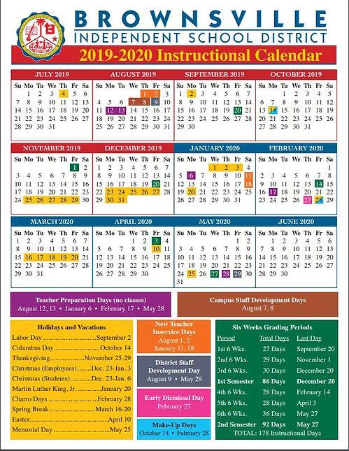 Brownsville Isd Calendar 2020 Crusader | Texas | castaneda elementary