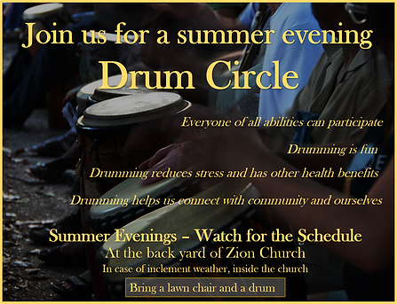 Drum Circle - Zion UCC Perry Hall, MD