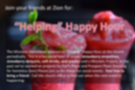 Helping Happy Hour - Zion UCC Perry Hall, MD
