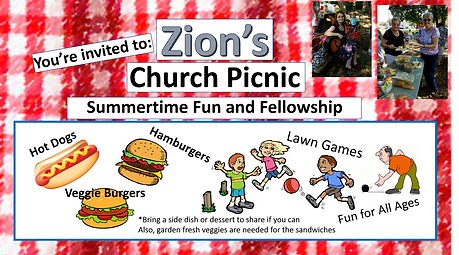 Church Picnic - Zion UCC Perry Hall, MD