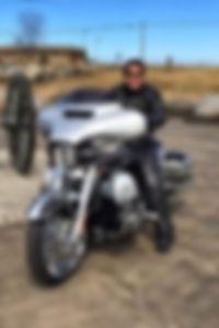 MotorcycleTalks, Cyndi Brandt