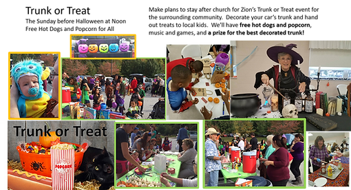 Trunk or Treat - Zion UCC Perry Hall, MD