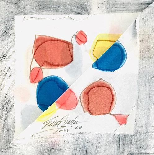 Esther Ojeda- Foulard White/grey