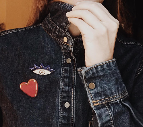 Objet-eye pins