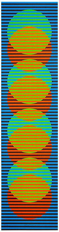 Carlos Cruz-Diez -Graphique Sitges 3