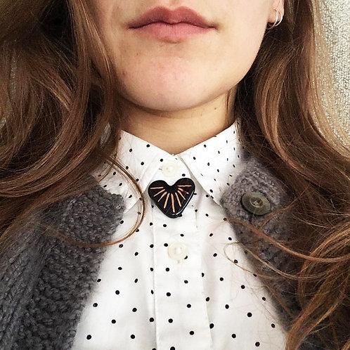 Objet-heart pins