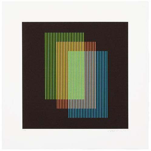 Carlos Cruz-Diez -Color Aditivo Ramblas 3
