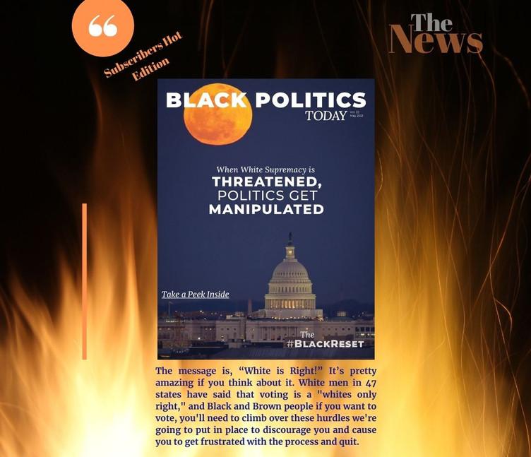 White Supremacy Manipulated