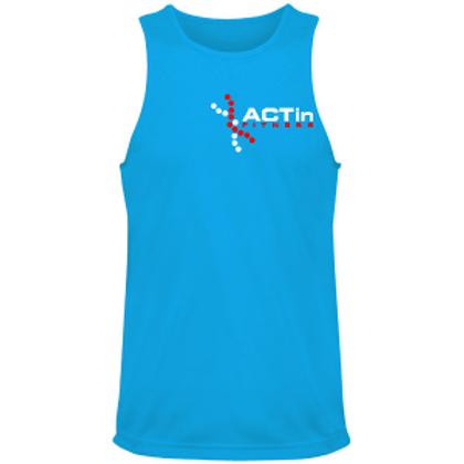 Men's Sports Vest (Blue)