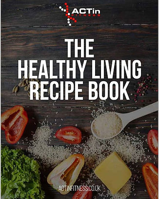THE HEALTHY LIVING RECIPE BOOK.___This i