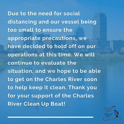 Clean Up Boat COVID-19 Update