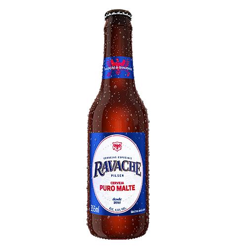 Cerveja Ravache Pilsen