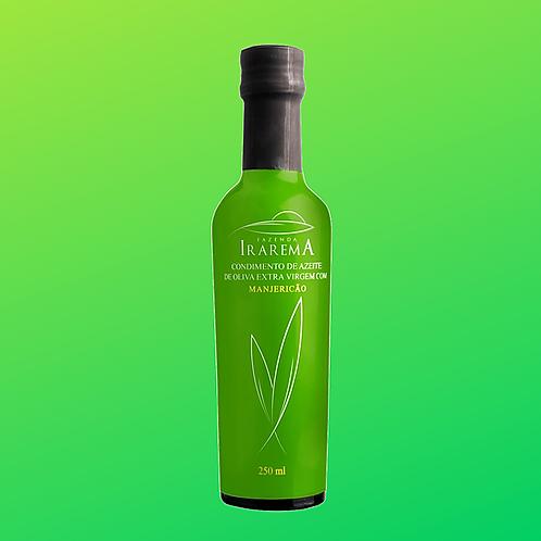 Azeite Aromatizado com Manjericão (250ml) - Faz. Irarema