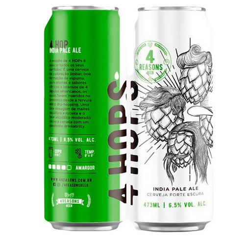 Cerveja Ipa 4 Hops (Lata)