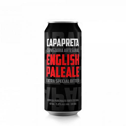 Cerveja Capa Preta English Pale Ale (Lata)