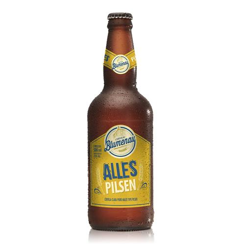 Cerveja Blumenau Alles Pilsen