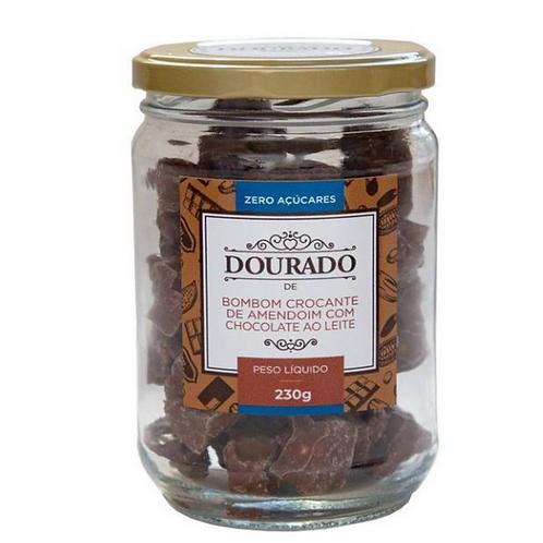 Doce de Amendoim Zero Açúcar (pote 230g)