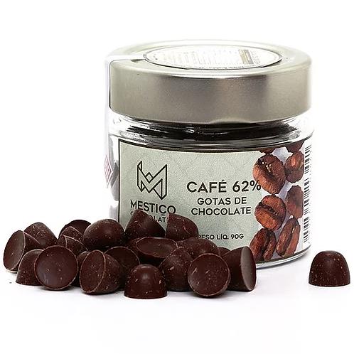 Chocolate Bean To Bar - Em Gotas com Café 62%