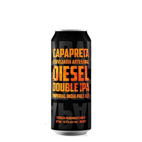 Cerveja Capa Preta Diesel Double IPA