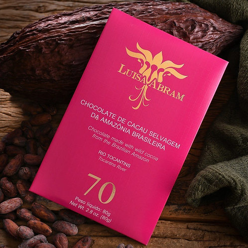 Chocolate Bean To Bar 70% Cacau - Rio Tocantins