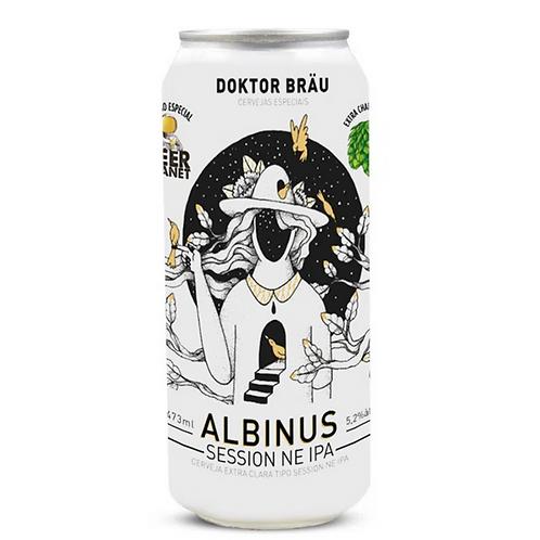 Cerveja Doktor Bräu IPA Albinus (Lata)
