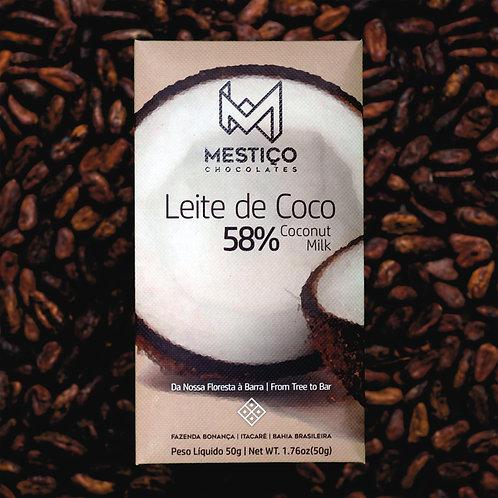 Chocolate Bean To Bar - Leite de Coco (50g)