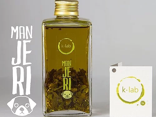 Azeite Aromatizado de Manjericão (100ml) - K-Lab