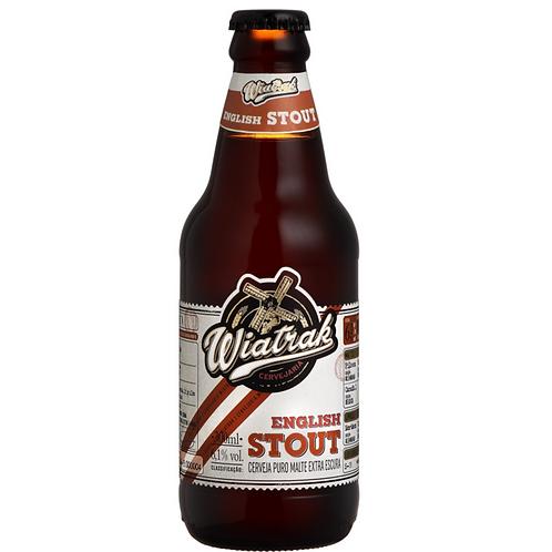 Cerveja Wiatrak English Stout (Long Neck)