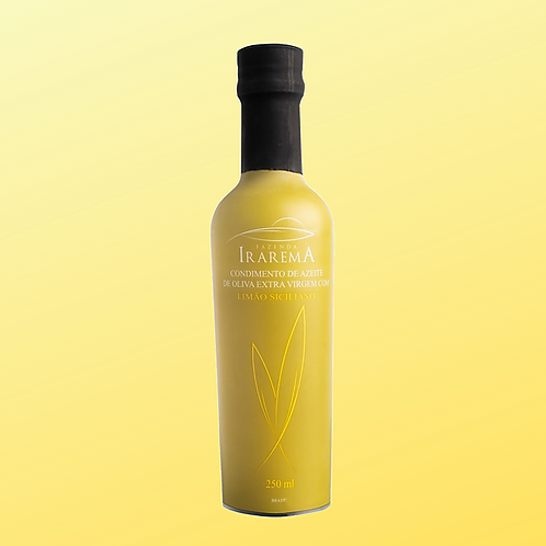 Azeite Aromatizado com Limão Siciliano (60ml) - Faz. Irarema