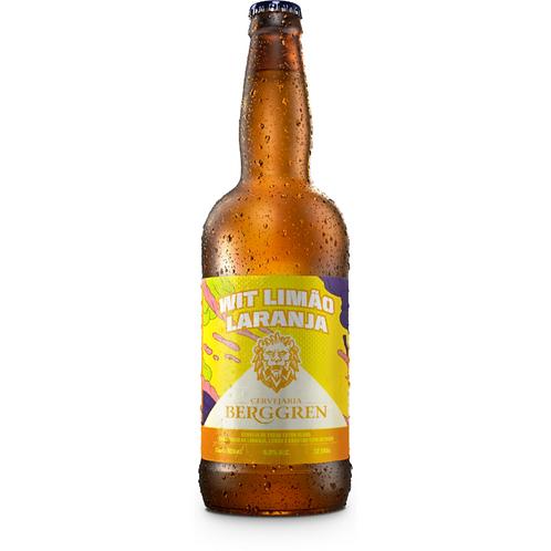Cerveja Berggren Wit Limão Laranja