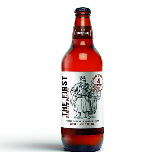 Cerveja The First - Porter com Baunilha