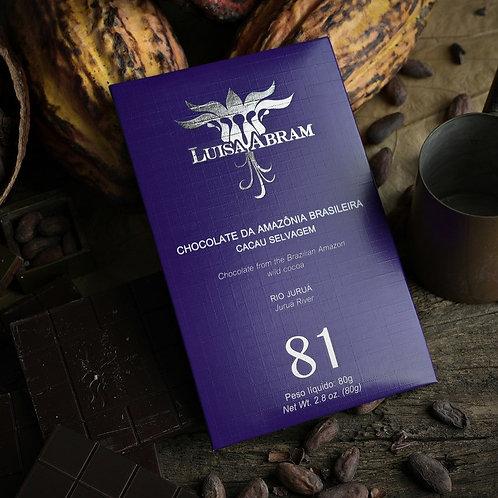 Chocolate Bean To Bar 81% Cacau - Rio Juruá