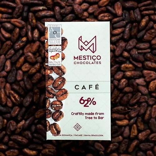 Chocolate Bean To Bar - Café 62% (25g)