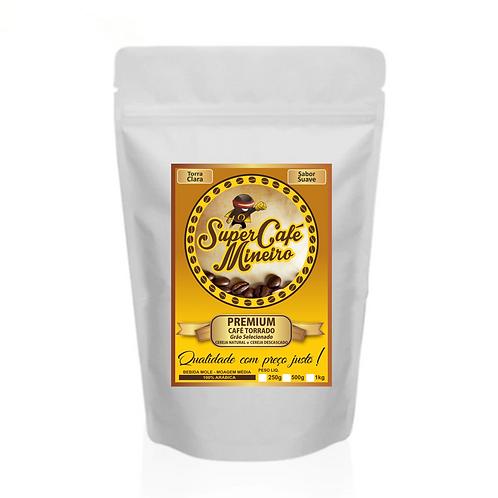 Café Premium Super Café Mineiro - Em grãos e moído (250g)