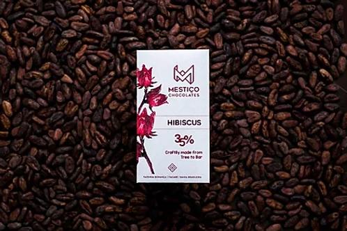 Chocolate Bean To Bar - Hibiscus (50g)