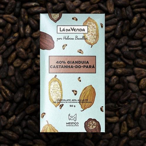Chocolate Bean To Bar - Gianduia 40% (50g)