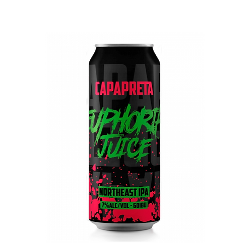 Cerveja Capa Preta Euphoria Juice (Lata)