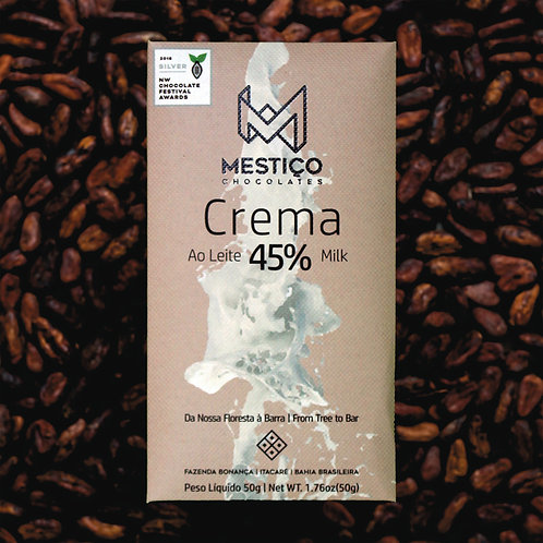 Chocolate Bean To Bar - Leite Crema 45% (50g)