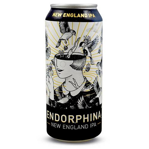 Cerveja Doktor Brau Endorphina NEIPA (Lata)