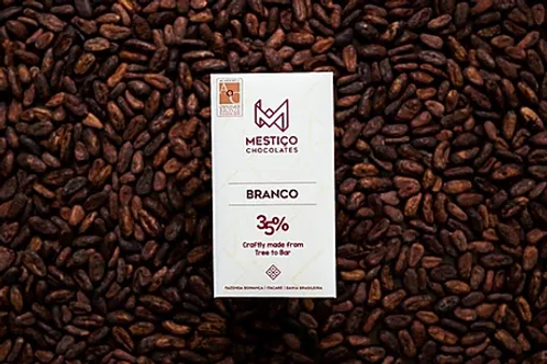 Chocolate Bean To Bar - Branco (50g)