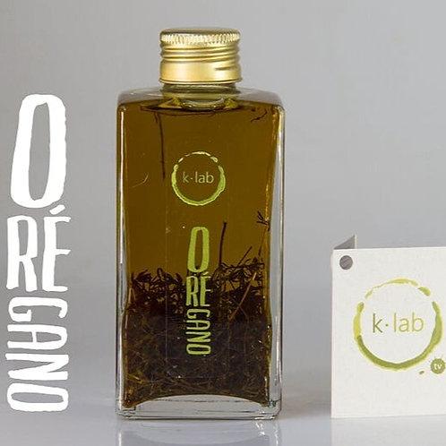 Azeite Aromatizado com Orégano (250ml) - K-Lab