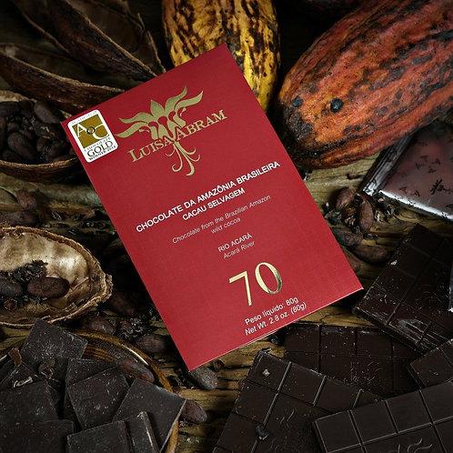 Chocolate Bean To Bar 70% Cacau - Rio Acará